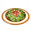 Salade de menthe fraîche