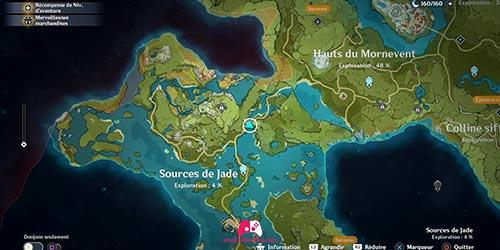 Carte du 1er
