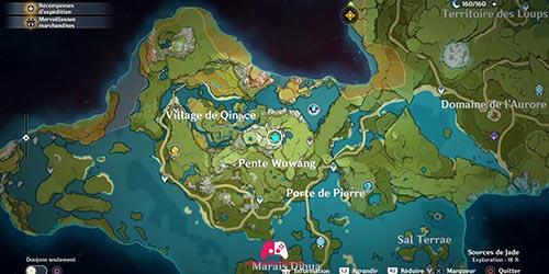 Carte du 16e