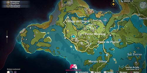 Carte du 19e