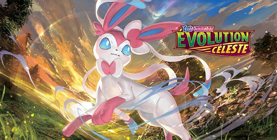 Visitez la boutique de booster de Pokémon Évolution Céleste