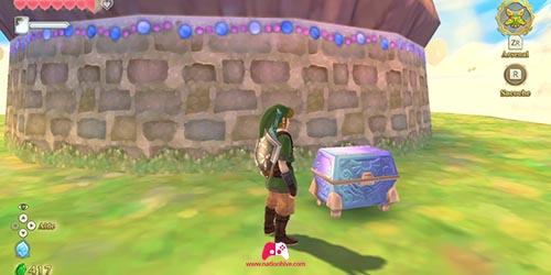 Carte du trésor du cube de la déesse 7