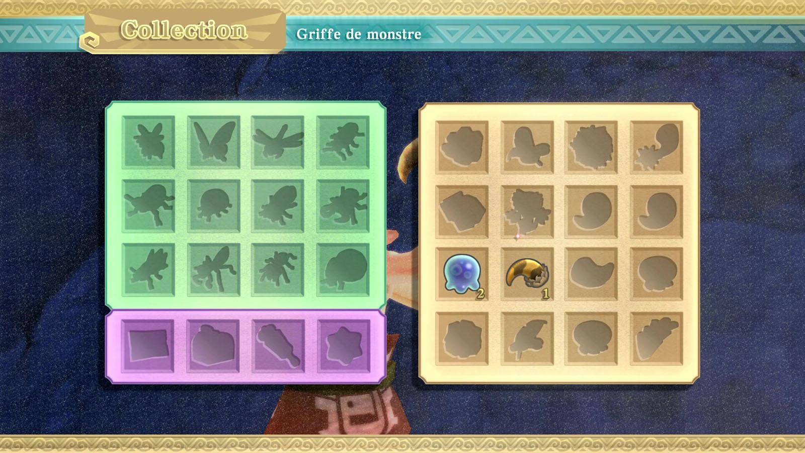 Guide des trésors dans The Legend of Zelda: Skyward Sword