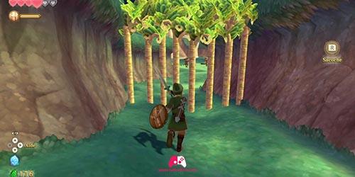 Couper la barrière de bambou