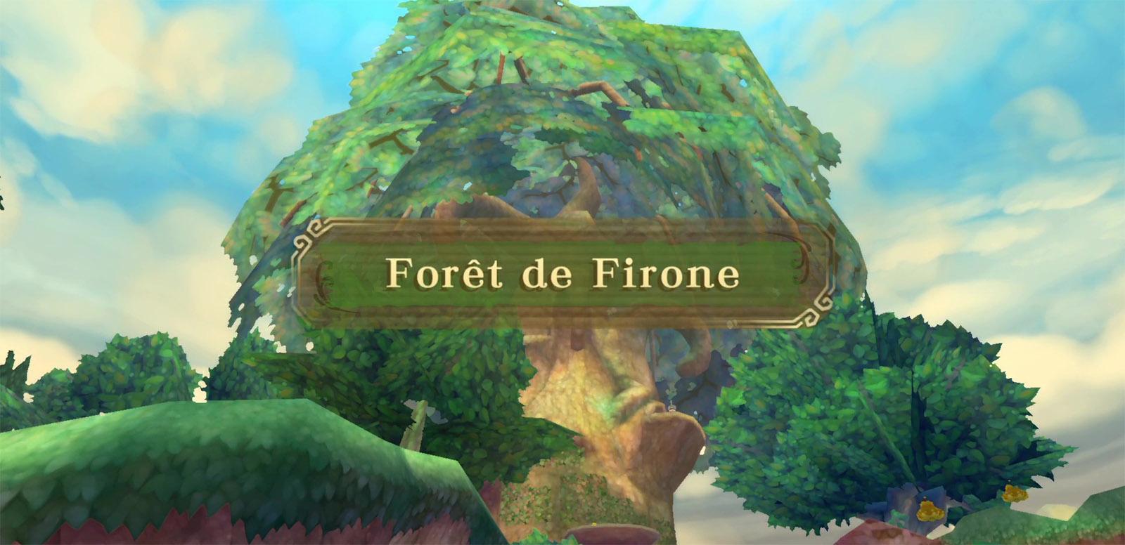 Soluce de la forêt de Firone dans The Legend of Zelda: Skyward Sword