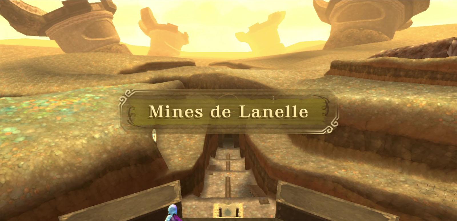 Soluce des mines de Lanelle dans The Legend of Zelda: Skyward Sword