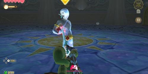 Boss bloque l'épée