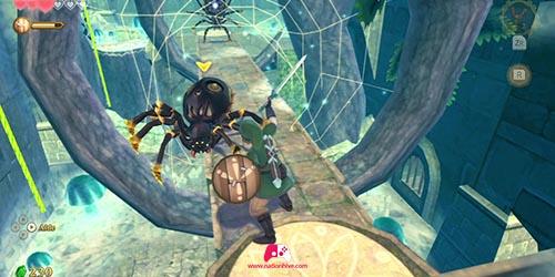 Faire tomber l'araigné