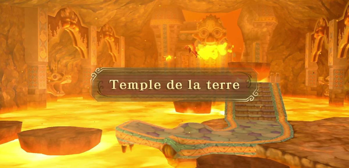 Soluce du Temple de la Terre The Legend of Zelda: Skyward Sword