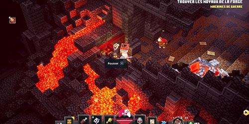 Levier de la forge ardente