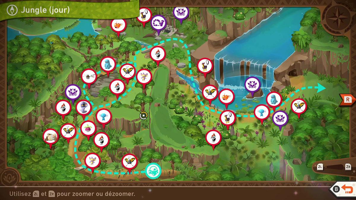 Soluce de la Jungle Grantarbre de jour dans New Pokémon Snap