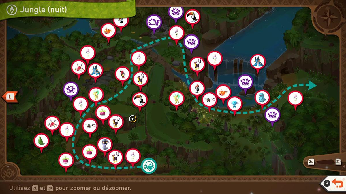 Soluce de la Jungle Grantarbre de nuit de New Pokémon Snap