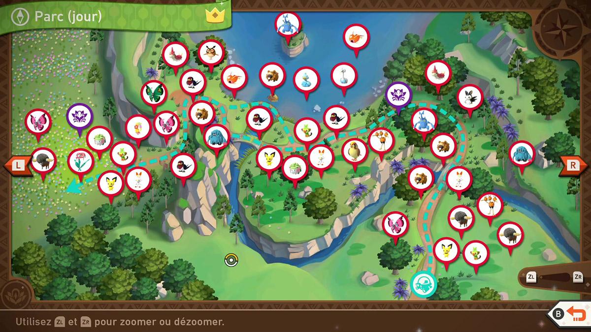 Soluce du Parc Naturel d'Anthos - Jour de New Pokémon Snap