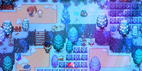 Chemin toundra gelée