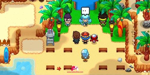 Rencontre de Merida à Palmaya Beach