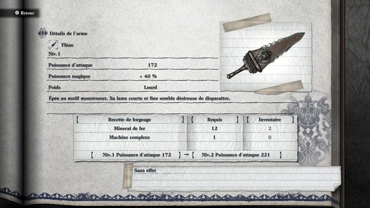 Obtenir l'arme Fléau dans NieR Replicant