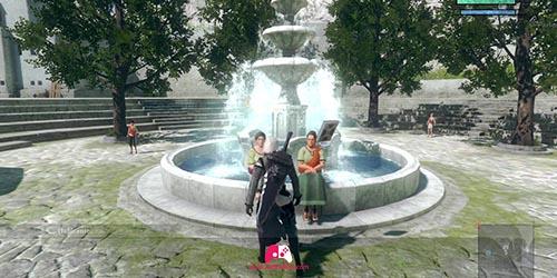 Femmes de la fontaine