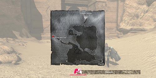 Carte du temple