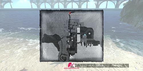 Carte de l'objectif 1