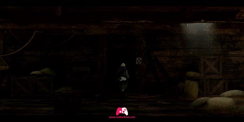Entrée dans le noir