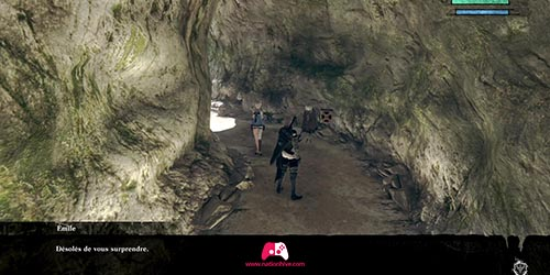 Kainé et Emile dans le tunnel