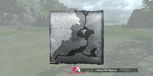 Carte de la plaine méridionale