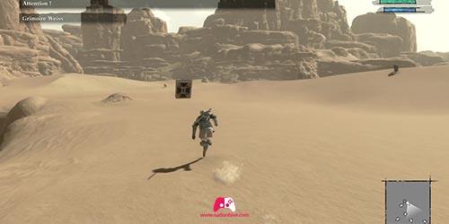 Entrez dans le désert