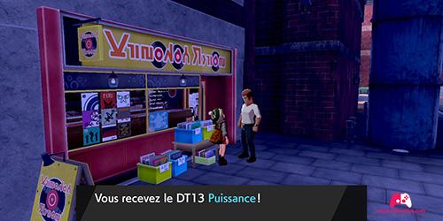 PNJ qui donne le DT13 à Motorby