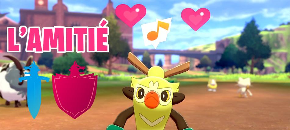 L'amitié dans Pokémon Épée et Bouclier