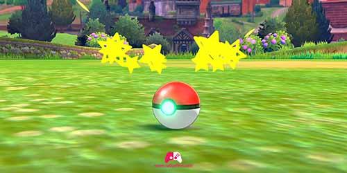 Pokémon attrapé