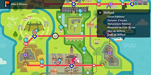 Carte de Skifford