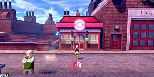 Centre Pokémon Ouest de Motorby