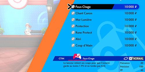 Achat de la CT94 Faux-Chage