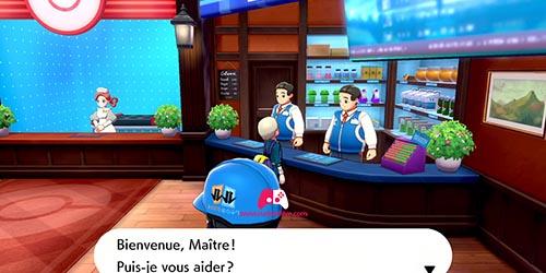 Vendeurs du centre pokémons