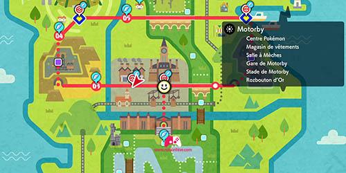 Carte de Motorby