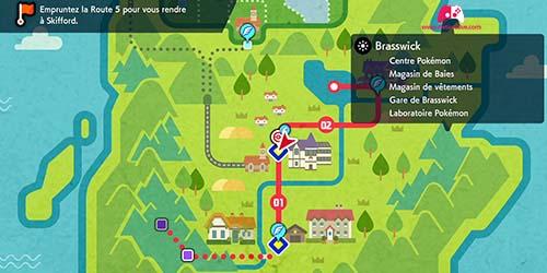 Carte de Brasswick