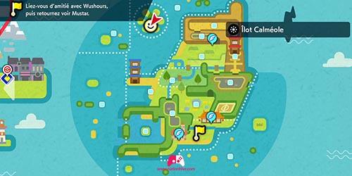 Carte du DT96