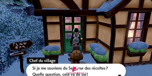 Chef du village