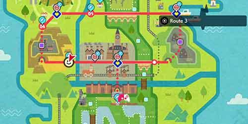 Carte de la route 3