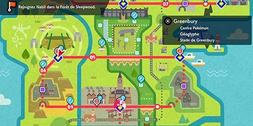 Carte de Greenbury
