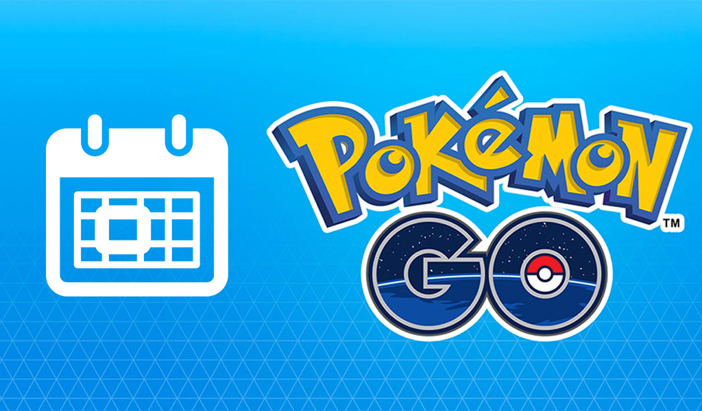 Pokemon Go - Calendrier des événements
