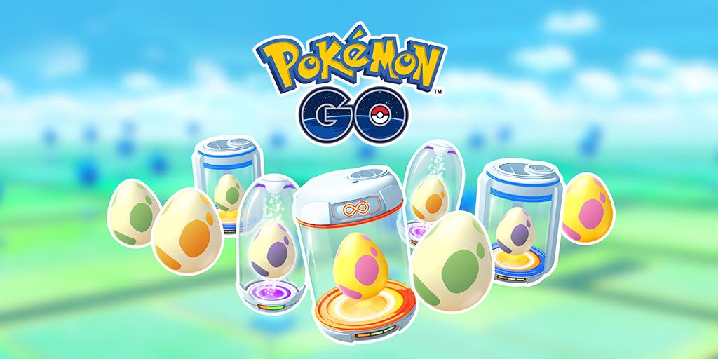 Guide des oeufs dans Pokémon Go