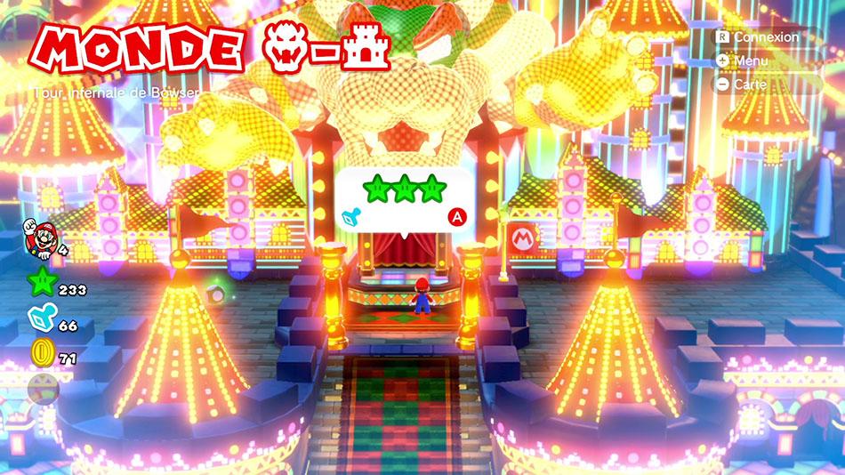 Soluce  du Monde Bowser-Château : Tour infernale de Bowser de Super Mario 3D World