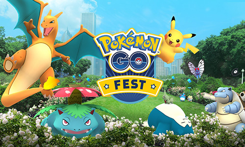 Les événements dans Pokémon Go