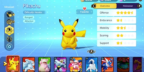 Liste des Pokémons