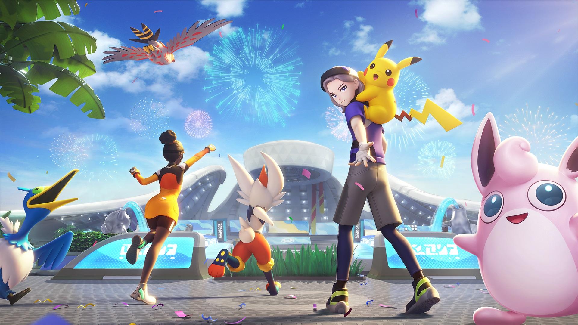 Codes amis pour Pokémon Unite