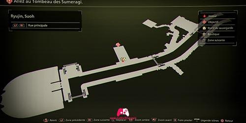 Carte du tombeau