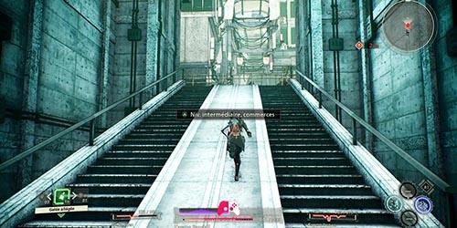 Sortir de l'escalier