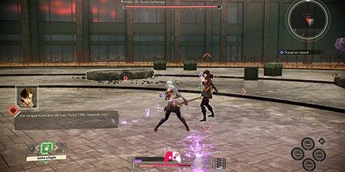 Combat contre Yuito