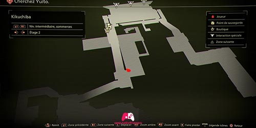 Carte de l'ennemi